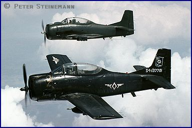 Philippine Air Force T-28D Trojans